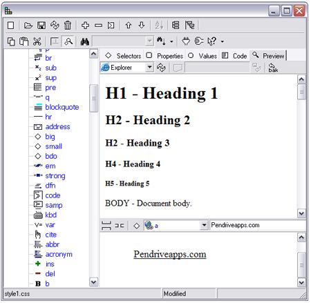Portable CSS - Oiko Editor